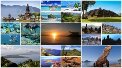 travelling di indonesia